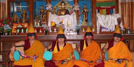 Creating a Sand Mandala - Drepung Kongpo Khangtsen Monks