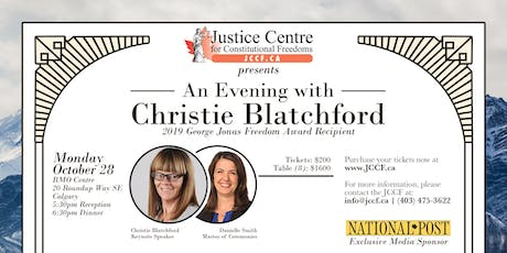 An Evening with Christie Blatchford in Calgary tickets