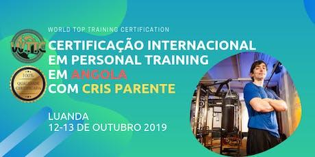 Certificação Internacional em Personal Training bilhetes