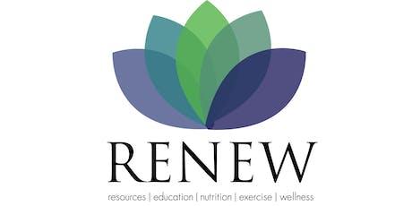 RENEW Program - Fall 2019 tickets