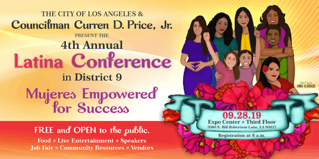 4th Annual Latina Conference in the NEW 9th - Mujeres Empowered for Success tickets