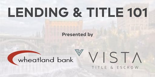 Lending & Title 101