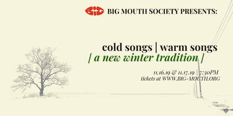 Cold Songs | Warm Songs: A New Winter Tradition tickets