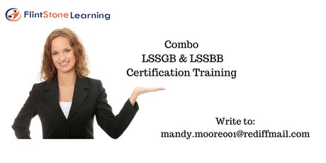 Combo LSSGB & LSSBB Classroom training in Houston, TX tickets