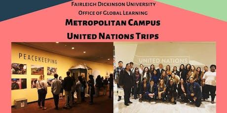 FDU Metro Campus UN Trip 10/23 tickets