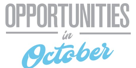 Opportunities in October - Jobseekers tickets