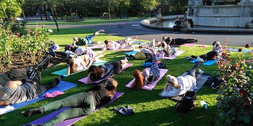 Yoga, Meditation & Vegan Dinner @ Kelvingrove Park