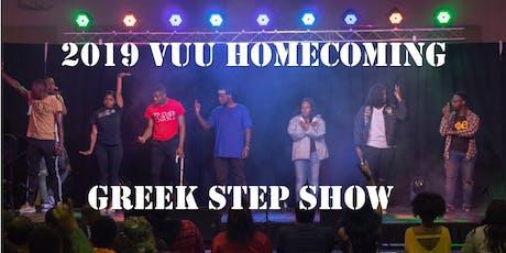 VUU Homecoming Greek Step Show tickets