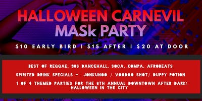CarnEVIL Mask Party