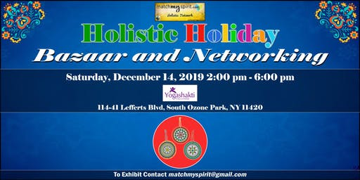 Free Holistic Bazaar in Queens !