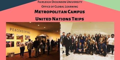 FDU Metropolitan Campus UN Trip 11/19 tickets
