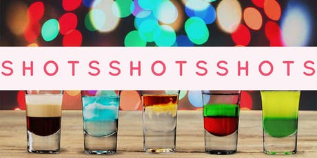 Bartending Class! Specialty Shots - Scooby Doo, B52, Rainbow, Jellyfish tickets