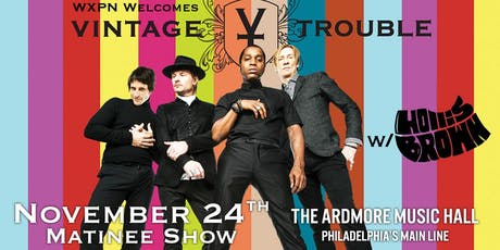 Vintage Trouble w/ Hollis Brown tickets