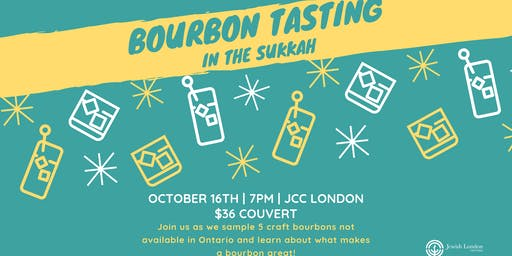 Bourbon Tasting in the Sukkah