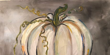 Paint and Sip White Pumpkin September 27th 6-830 @Eatology tickets