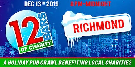 12 Bars of Charity - Richmond 2019 tickets