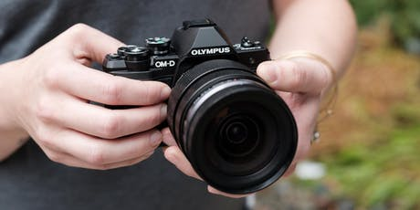 Getting to Know Your Olympus OM-D/PEN-F Camera tickets