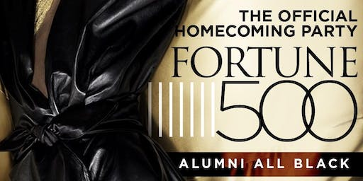 ALUMNI VSU ALL BLACK HOMECOMING PARTY (Fortune 500)