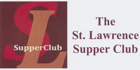 St. Lawrence Supper Club - Oct. 28 tickets