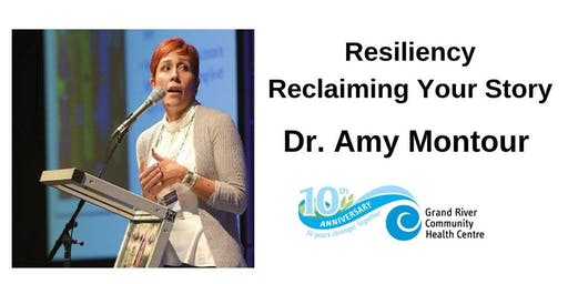 GRCHC Speaker Series:  Amy Montour - Resiliency  Reclaiming Your Story