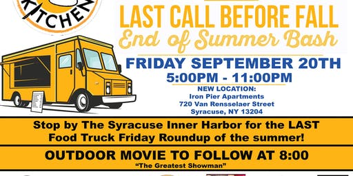 Last Call Before Fall - Food Truck Friday Roundup & More!