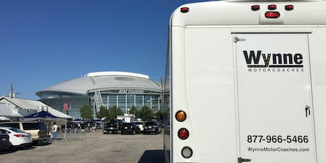 Dallas Cowboys Tailgate and Transportation from Downtown Dallas - Buffalo Bills tickets