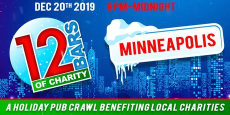 12 Bars of Charity - Minneapolis 2019 tickets