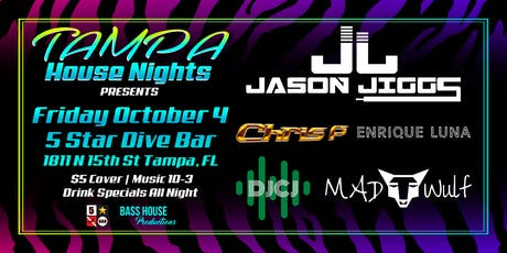 10-4 First Fridays with Tampa House Nights tickets