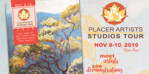 Pre-Registration for Visitors to the 26th Annual Placer Artists Studios Tour