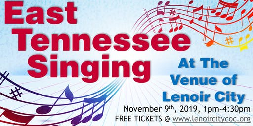 2nd Annual East Tennessee Singing