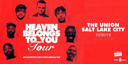 BROCKHAMPTON: Heaven Belongs to You Tour