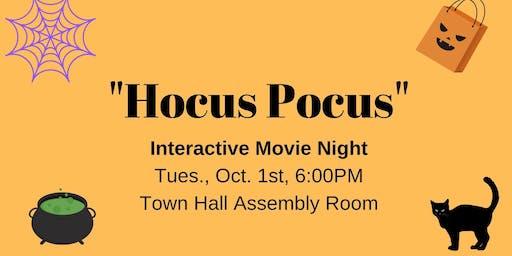 Hocus Pocus: Interactive Movie Night