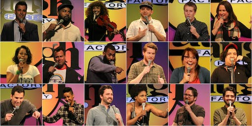 FREE TICKETS RAFFLE PRIZES TUESDAY NIGHT STANDUP COMEDY LAUGH FACTORY