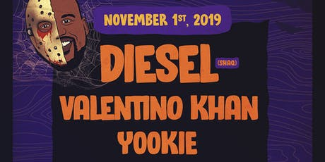 """Shaq's Bass All-Stars w/ DIESEL (Shaq) support by Valentino Khan, Yookie, Kill n Yati ++  