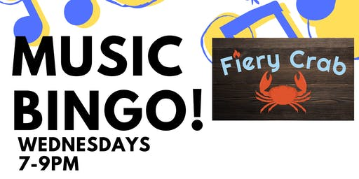 MUSIC BINGO at FIERY CRAB - Rock Hill
