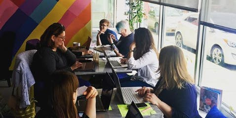 Feminists, Waffles, Work — Workshop + Coworking (Sept-Oct 2019)