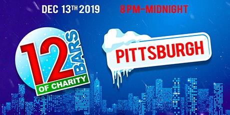 12 Bars of Charity - Pittsburgh 2019 tickets