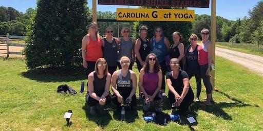 Carolina Goat Yoga Class: October 11th