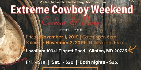 Extreme Cowboy Weekend tickets