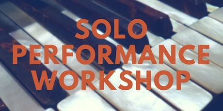 6 Week Solo Performance Workshop with Courtney Freed and Darcy White tickets