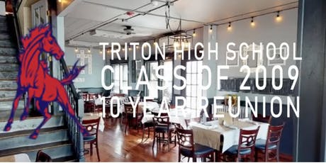 Triton Regional High School Class of 2009's 10 Year Reunion tickets