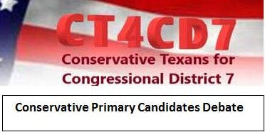 Conservative CD 7 Candidates Debate