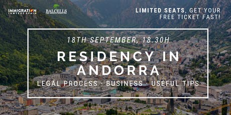 How to Get Your Residence Permit  in Andorra tickets