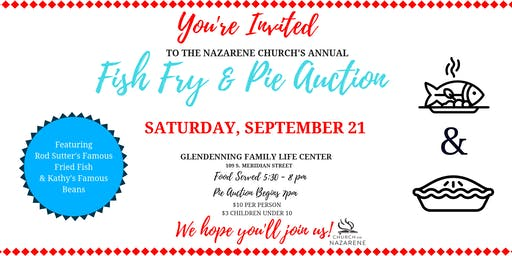 Annual Fish Fry & Pie Auction