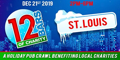 12 Bars of Charity - St. Louis 2019 tickets