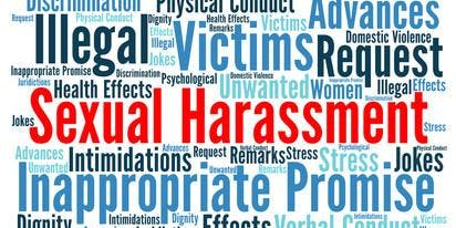 Sexual Harassment Training provide by The DHF Group @ the co|LAB