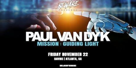 Paul Van Dyk Mission: Guiding Light - Ravine Atlanta tickets
