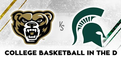 Detroit Spartans Michigan State v Oakland at LCA ($46 per ticket)