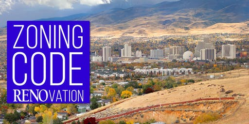 Zoning Code RENOvation Open House - Zoning Districts and Uses