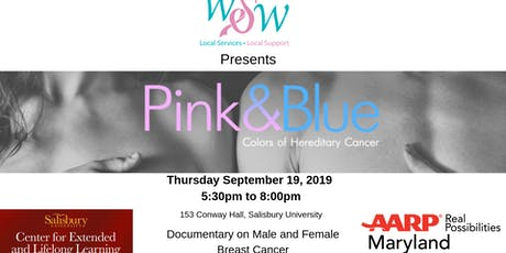 Pink & Blue Colors of Hereditary Cancer Presented by WSW tickets